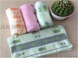 純棉花色毛巾 家用生活禮品毛巾 可裝套盒