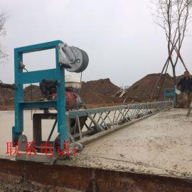 混凝土地面整平机 框架式振动梁 汽油路面摊铺机