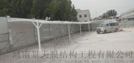 焦作膜结构遮阳棚,武陟膜结构停车棚
