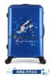 可定制图案logo拉杆箱 万向轮旅行箱包公司礼品箱 儿童学生行李箱