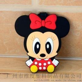 专业定做PVC软胶箱包吊牌 滴塑行李牌 广州工厂