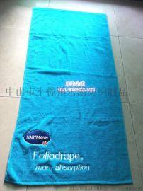廠家直供訂制廣告純棉活性印花超細纖維熱轉印運動沙灘巾酒店浴巾