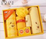 内野UCHINO小蜜蜂7件套毛巾礼盒 创意毛巾 情侣 教师节 礼物礼品