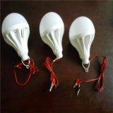 批发DC12V低压LED球泡灯3W5W7W9W12W15W夹子线带开关球泡