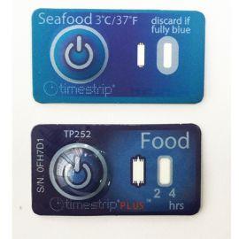 Timestrip3度海鲜运输储存温度指示标贴标签