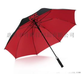 惠州广告雨伞logo设计,反收伞定制,高尔夫雨伞厂