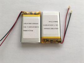 高壓聚合物鋰電池 3.8V鋰電池工廠