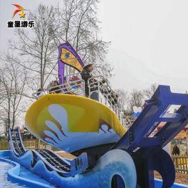 商丘童星游乐厂家 主营新型儿童游乐设备冲浪者