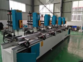 山东铝合金门窗制造厂家供应成套门窗加工设备