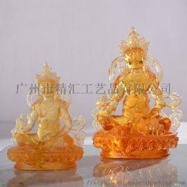 广州琉璃佛像工艺品厂家 古法琉璃工厂 寺庙琉璃佛像