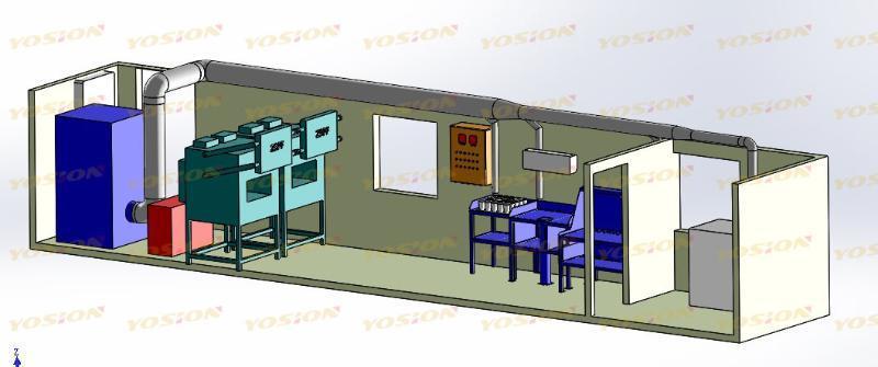 垚鑫科技火试金集装箱实验室