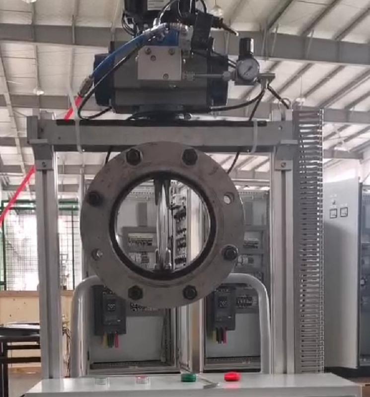 德国VATTEND671X-10\16 气动耐磨损膨胀蝶阀过固体颗粒物料介质阀