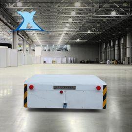无线遥控360度转弯无轨电动平车厂家 无轨平板车蓄电池平台车