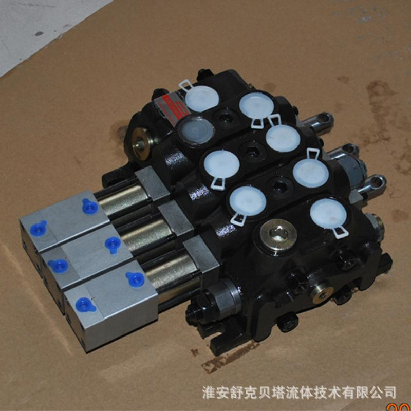 DCV60-O1Q2OQ系列垃圾壓縮車氣控多路閥