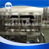 提供全自动五加仑大桶外刷机 直线式刷桶机机械