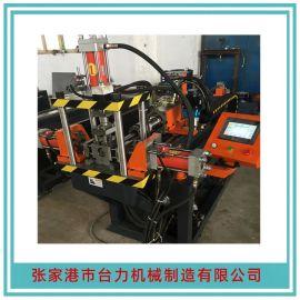 厂家生产不锈钢圆管冲孔机?四轴圆管冲孔机