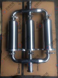 非标定制三联管道过滤器 不锈钢过滤器 管道过滤器