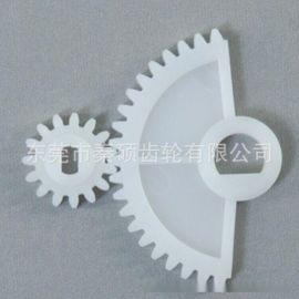 塑料齿轮加工订做东莞市秦硕齿轮按图按样版订做各类塑胶齿轮