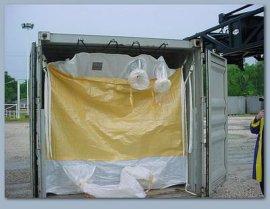 集裝箱幹料袋液袋,集裝箱內襯袋噸袋