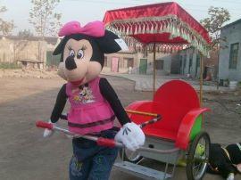 温州国龙机器人拉车
