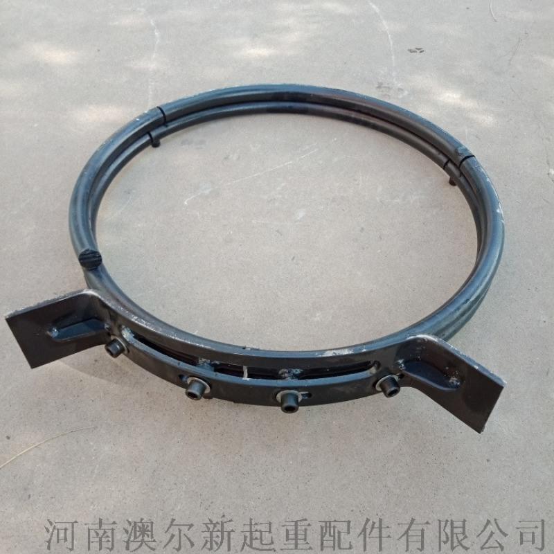 钢丝绳电动葫芦导绳器  5T防斜拉钢丝绳排绳器