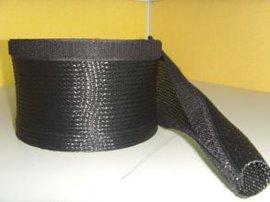 供应开口式编织网、带魔术贴编织网管、自卷式编织网