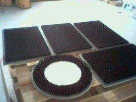 厂家直销圆盘PVC板刷  机械抛光毛刷
