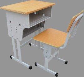 环保认证 **行货 安阳 单柱升降桌椅 学校课桌椅 学生升降椅