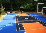 篮球场运动地板_网球悬浮拼装式运动地板_羽毛球悬浮拼装运动地板