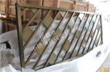 青古铜拉丝斜列式不锈钢隔断|时尚美观不锈钢屏风