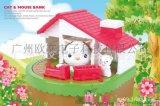 创意存钱罐创意存钱罐储蓄儿童存钱罐创意新奇存钱罐猫和老鼠存钱罐
