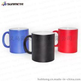 热转印全变色杯 个性马克杯 创意变色马克杯 热转印变色马克杯
