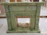 巴基斯坦青玉雕刻壁爐架