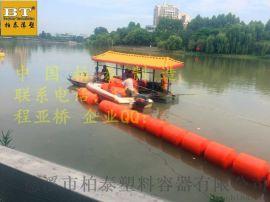 紹興抽沙管道浮筒 浙江攔渣塑料浮體定做廠家