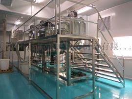 工厂直销日化生产机器 洗化设备 电加热搅拌罐