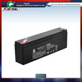 12V2.3AH医疗监护仪电池摄像机蓄电池扩音器电池针织机械专用电池