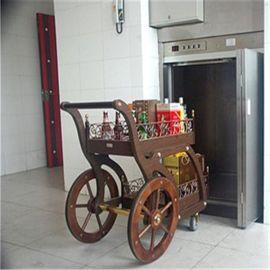 供应欣达牌200公斤饭店餐梯现货销售/推车式酒店传菜梯厂家低价批发