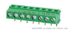 5.0MM间距90度弯针FS128R绿色环保铜连接器可订颜色