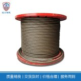 超力钢丝绳6×K36WS+IWR-28扁丝打桩旋挖钻机钢芯耐磨重要质保