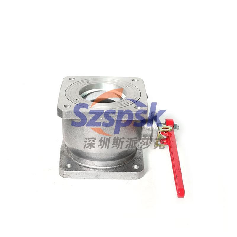 槽车铝合金球阀/圆形槽车球阀/方形槽车球阀Q41F-41寸 2寸 3寸4