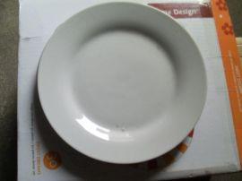 库存日用陶瓷平盘(8寸)