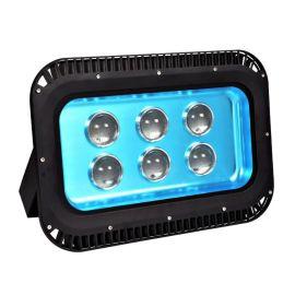 厂家生产led投光灯太阳花外壳 聚光led投光灯外壳 压铸铝集成灯具