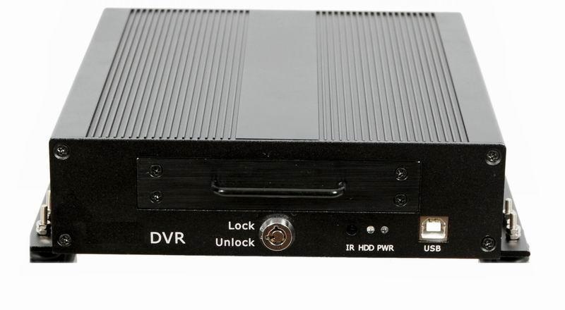 2G/3G/GPRS/CDMA無線車載DVR(WS-MVR804)
