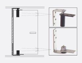 BEST品牌1602A型卫生间隔断隐形自动关门铰链合页