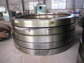 复合肥设备铸钢滚圈配件 造粒机冷却机涂膜机滚圈