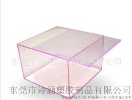 抽取式 加厚 方形PS塑料盒 PS塑胶盒173*173*114MM (规格齐全)