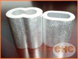 压制钢丝绳用铝套,8字型铝套
