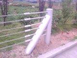 公路绳索护栏厂家、绳索护栏生产厂家、钢丝绳护栏