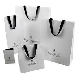 厂家定做个性手提袋印刷 购物包装袋礼品女装手提袋印刷定制