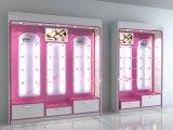 时尚高端品牌内衣展示柜|木质烤漆家居服展柜|